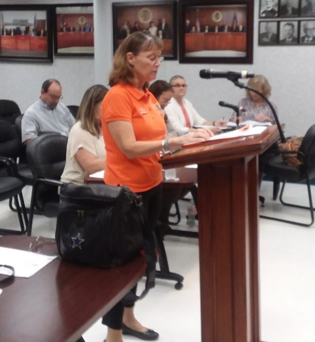KOCB receives support from Commissioners Court