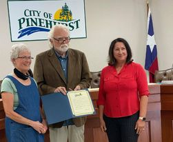 """Pinehurst proclaims August """"Curbside Recycling Awareness"""" month"""